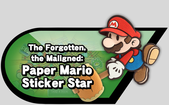 The Forgotten The Maligned Paper Mario Sticker Star Source Gaming