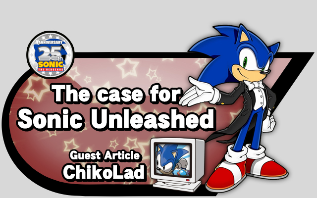 The Case For Sonic Unleashed Xbox 360 Ps3 Source Gaming